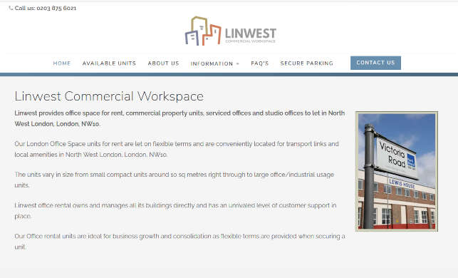 Linwest Commercial Workspace
